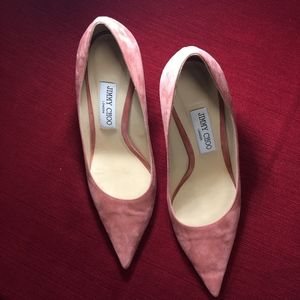 Love 100 Suede Pumps by Jimmy Choo